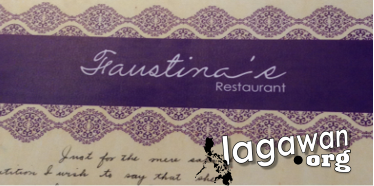 faustina's restaurant sign