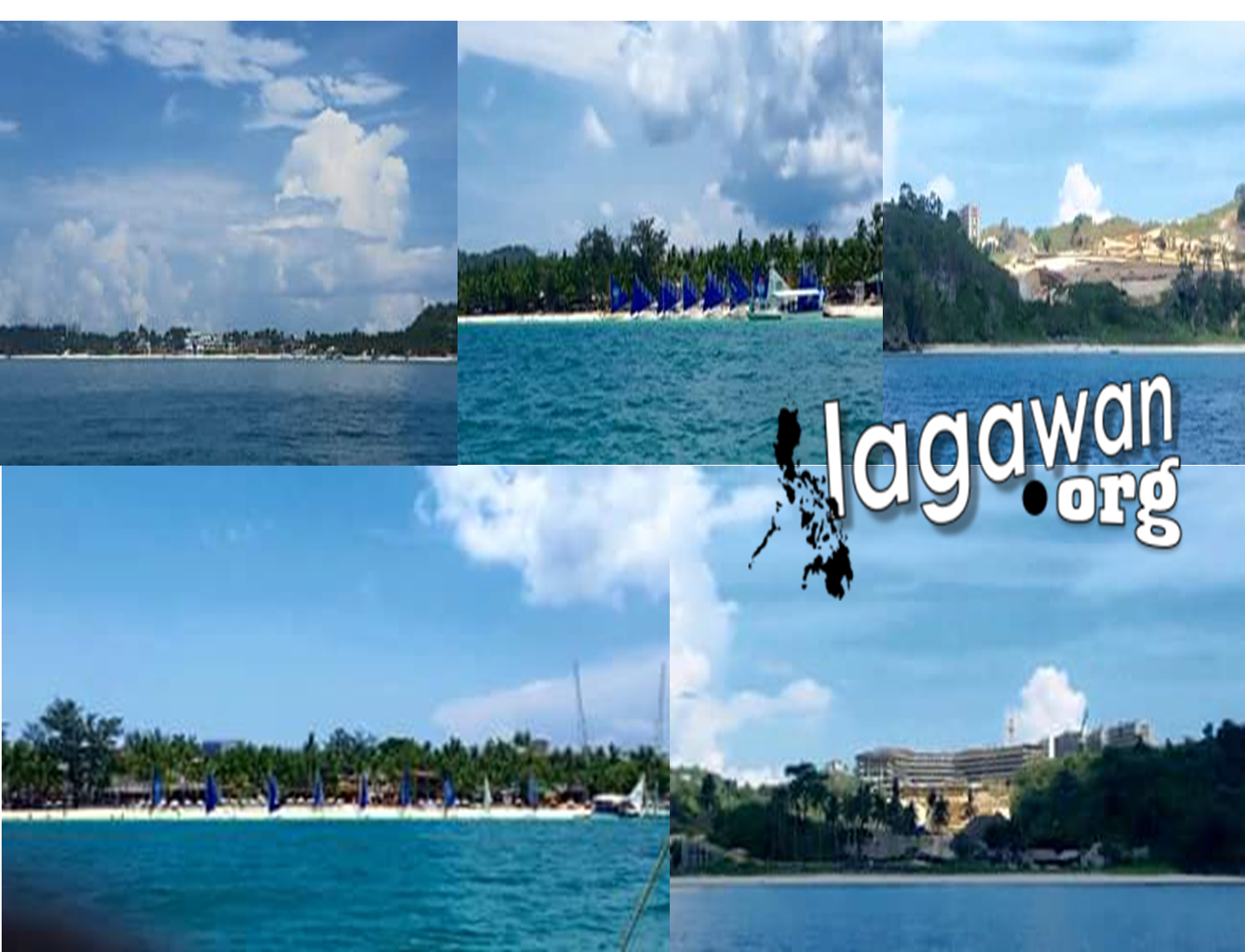 Different Views of the Boracay Island