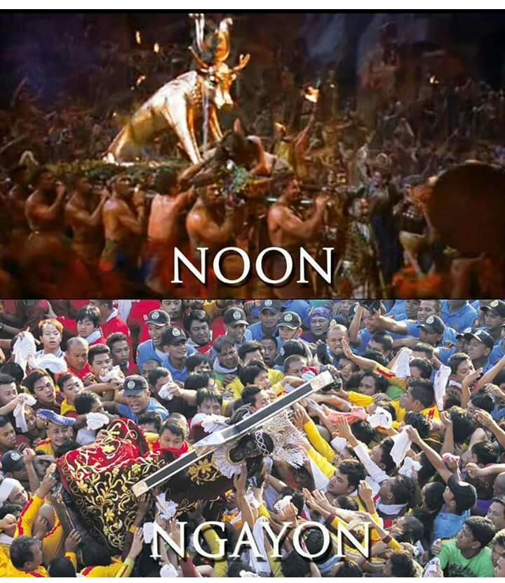 The image of the Black Nazarene