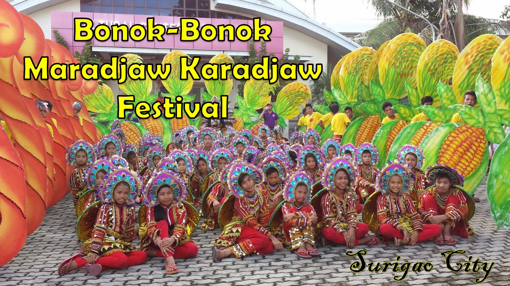 bonok-bonok surigao city festival